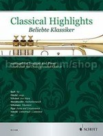 Classical Highlights arranged for Trumpet and Piano