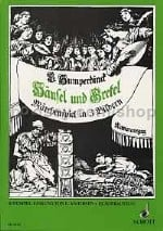 Hansel und Gretel (vocal score)