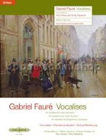 Vocalises for voice and piano