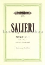 Mass No.1 in D 'Hofkapellmeister-Messe' (Vocal Score)
