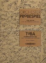 Test Pieces for Orchestral Auditions - Tuba