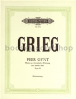 Peer Gynt Op.23 (Vocal Score)