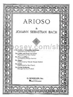 Arioso Violin/cello & Piano St26240
