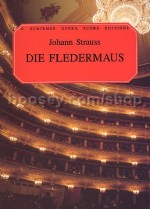 Die Fledermaus English Vocal Score (Schirmer Opera Score Editions)