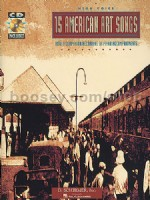 15 American Art Songs High Voice (Book & CD)