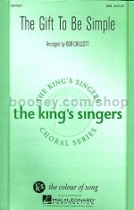 Gift To Be Simple - The King's Singers SATB