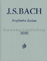 Bach English Suites Complete Hardback piano