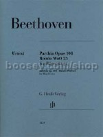 Parthia op. 103 · Rondo WoO 25 for wind octet (set of parts)