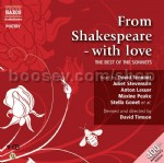 From Shakespeare With Love (Nab Audio CD)