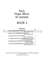 Early Organ Music for Manuals, Book 2