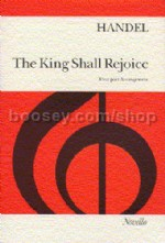 The King Shall Rejoice (Vocal Score) (SATB)