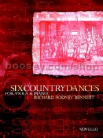 Six Country Dances (Viola)