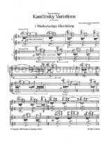 Kandinsky Variations (Two Scores)
