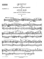 Quintet for Clarinet and Strings (Set of Parts)