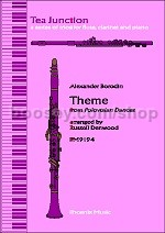 Theme from Polovtsian Dances for Flute/Clarinet/Piano