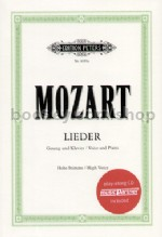 50 Selected Lieder (High Voice, with CD)