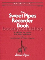 Sweet Pipes Recorder Book 1 alto