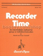 Recorder Time Book 2 Soprano