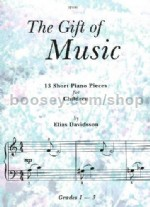 The Gift of Music - 13 short piano pieces for children