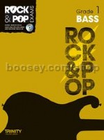 Rock & Pop Exams: Bass - Grade 1 (Book & CD)