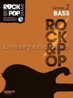 Rock & Pop Exams: Bass - Grade 2 (Book & CD)