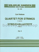 String Quartet No1 (Parts)