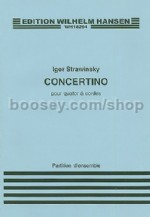 Concertino - string quartet (Miniature Score)