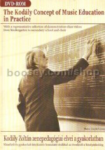 The Kodály Concept of Music Education in Practice (DVD)
