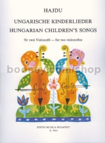Hungarian Children's Songs - 2 cellos