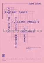 Ragtime Dance/Pleasant Moments/Cascades for flute, cello and piano