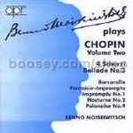 Benno Moiseiwitsch Plays Chopin (Voume 2) (APR Audio CD)