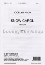 The Snow Carol (SSAA)