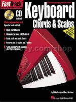 Fast Track Keyboard Chords & Scales + Cd