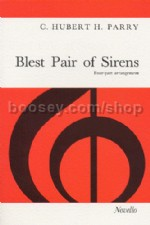 Blest Pair of Sirens (4 Part Vocal Score)