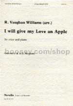 I Will Give My Love An Apple (Unison)