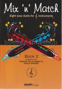 Mix N' Match Book 2 Traditional Airs (8 Duets)