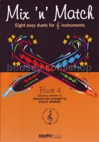 Mix N Match Book 4 Xmas Selection 2 (8 Duets)