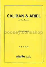 Caliban and Ariel for solo bassoon
