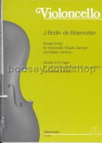 Sonata for Violoncello (Bassoon or Viola da gamba) and Basso Continuo in D Major, Op.50/3