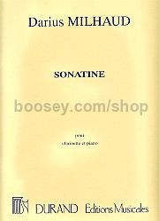 Sonatine for Clarinet & Piano