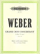 Grand Duo Concertant in Eb op. 48 for clarinet & piano