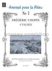 Four Waltzes arr. for Flute & Piano