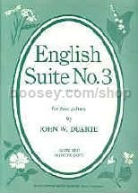 English Suite Op. 78 No 3