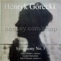 Symphony No. 3, Op. 36 'Symphony of Sorrowful Songs' (Nonesuch Audio CD)