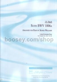 Suite BWV 1006a for harp