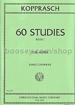 60 Studies, Volume 1 - Horn in F