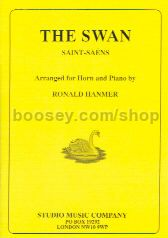 The Swan from The Carnival of the Animals, arranged for Horn (Eb/F) and Piano