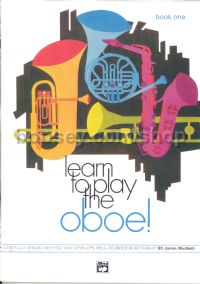 Learn To Play The Oboe Book 1