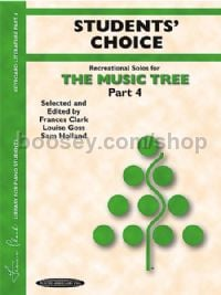 The Music Tree, Part 4 (Students' Choice)