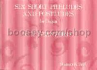 Six Short Preludes and Postludes Op. 101 Set 1